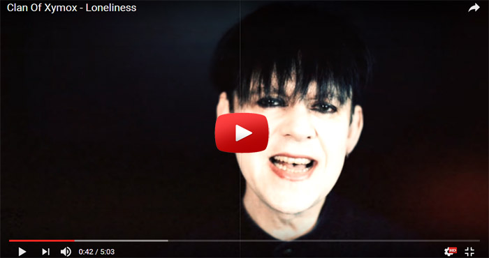 clan of xymox loneliness video clip