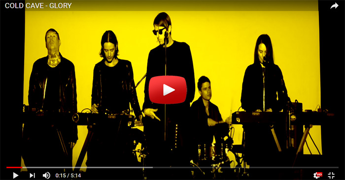 cold cave glory video clip