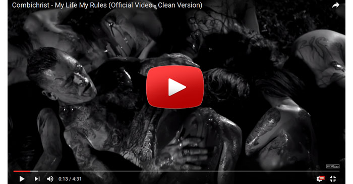 combichrist my life my rules video clip