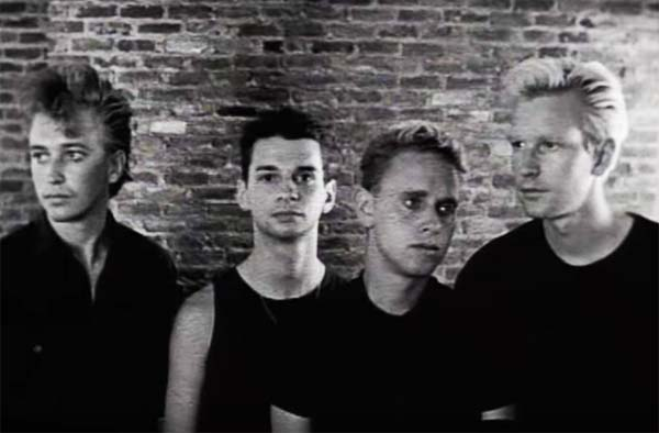 depeche mode a question of time video clip