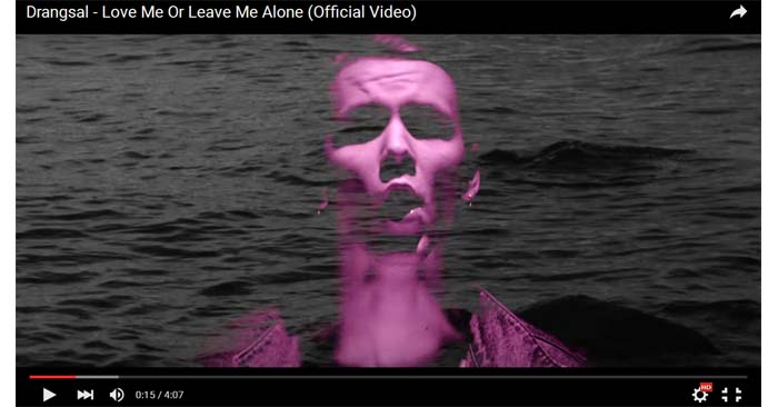 drangsal love me or leave me alone video clip