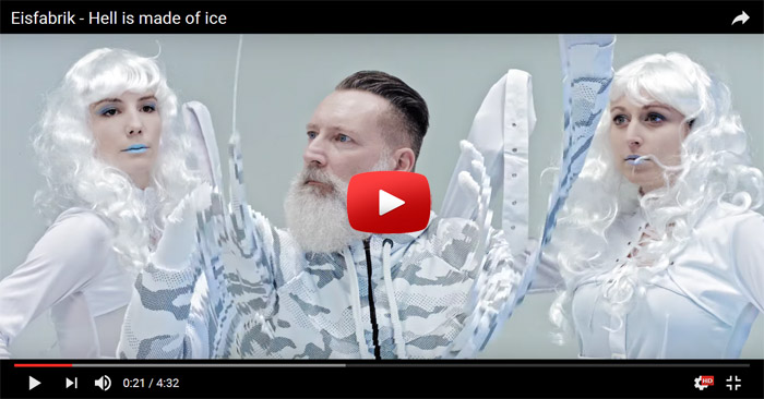 eisfabrik hell is made of ice video clip