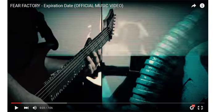 fear factory expiration date video clip