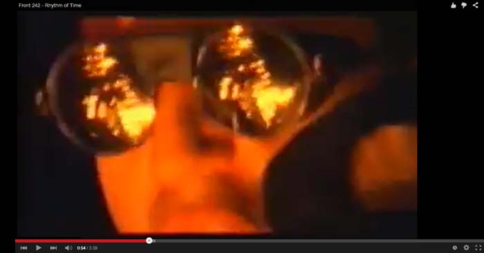 front 242 rhythm of time video clip