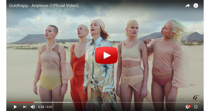 goldfrapp anymore video clip