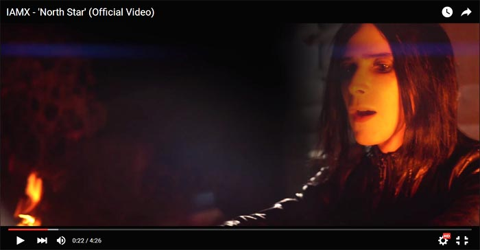 iamx north star video clip