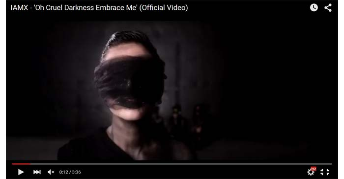 iamx oh cruel darkness embrace me video clip