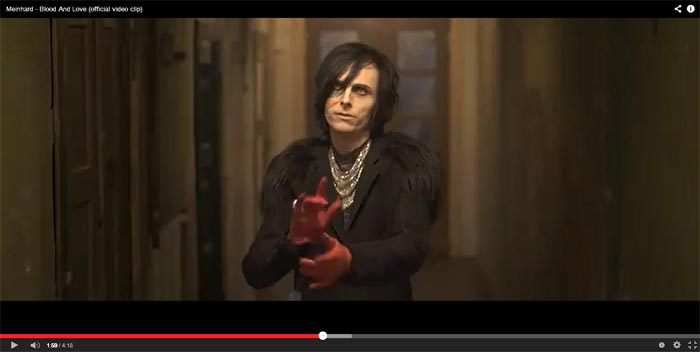 meinhard blood and love video clip