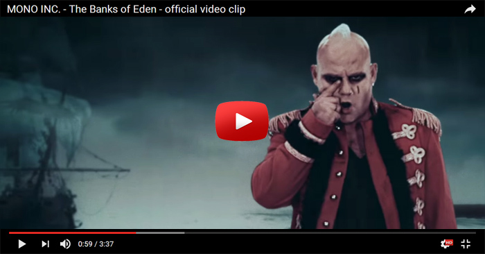 mono inc banks of eden video clip