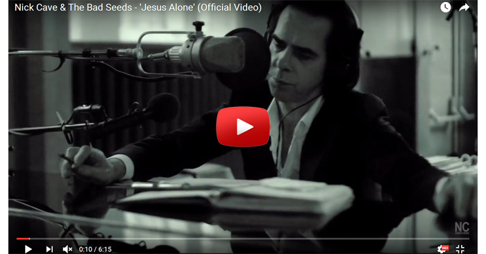 nick cave and the bad seeds jesus alone