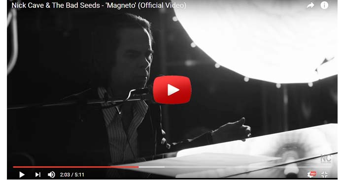 nick cave and the bad seeds magneto video clip