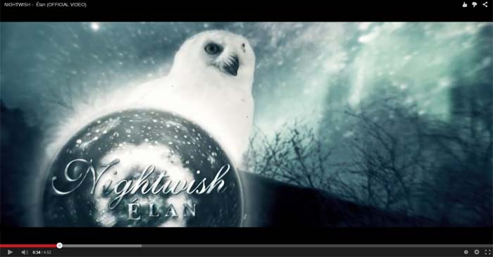 nightwish elan video clip