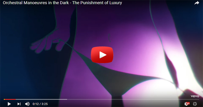 omd the punishment of luxury video clip