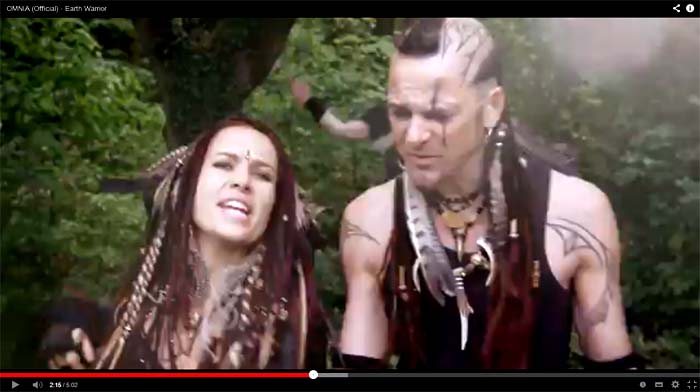 omnia earth warrior video clip