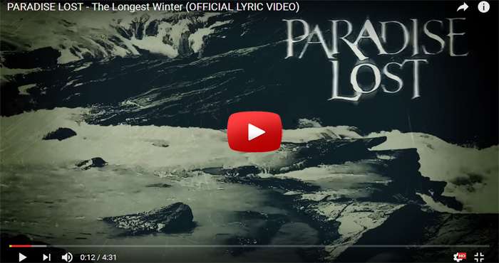 paradise lost the longest winter video clip
