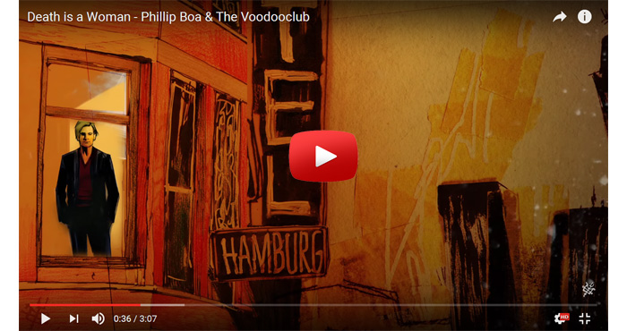 phillip boa and the voodooclub death is a woman video clip