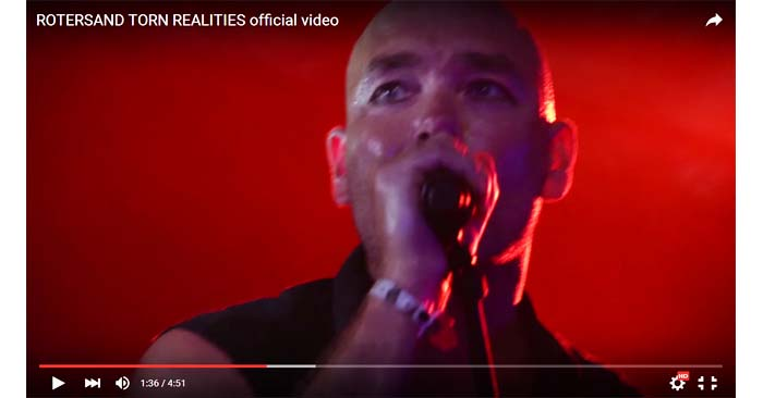 rotersand torn realities video clip