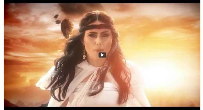 within temptation and we run video clip