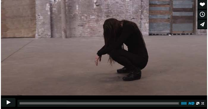 zola jesus hunger video clip